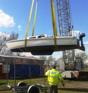 Hoisting Boat 2